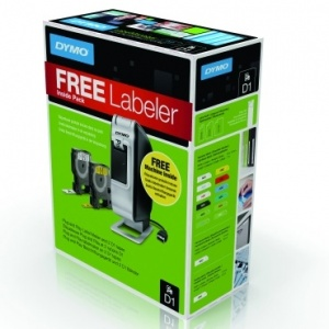 Special Offer: Dymo LabelManager Plug & Play Bundle (2 tapes included)
