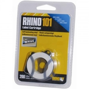 Dymo Rhino 19X25mm Self Laminating Tape (S0810300) - DISCONTINUED
