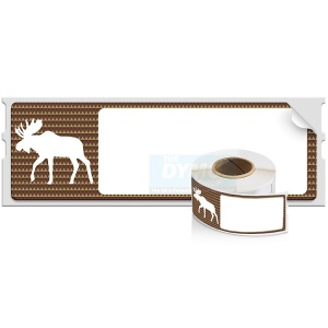 Dymo LabelWriter MOOSE Holiday Address Labels - DISCONTINUED