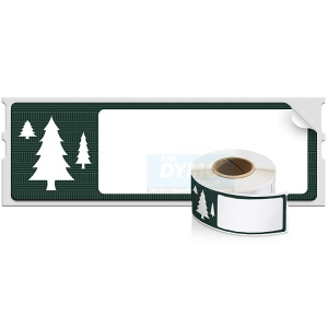 Dymo LabelWriter TREE Holiday Address Labels