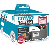 Dymo LabelWriter 1933084 DURABLE Multi-Purpose Labels - NEW!