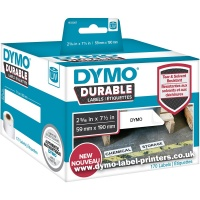 Dymo LabelWriter 1933087 DURABLE Large Shelving Labels - NEW!