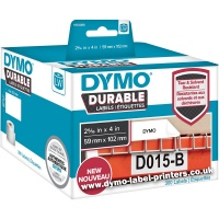 Dymo LabelWriter 1933088 DURABLE Shipping Labels BULK (300 labels)