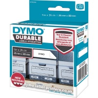 Dymo LabelWriter 1976200 DURABLE Shelving Labels STARTER (Qty 100)