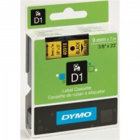 Dymo 9mm Black On Yellow D1 Tape (40918)