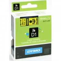 Dymo 19mm Black On Yellow D1 Tape (45808)