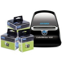 Special Offer: Dymo Labelwriter 450 Label Printer Bundle (3 labels rolls included)